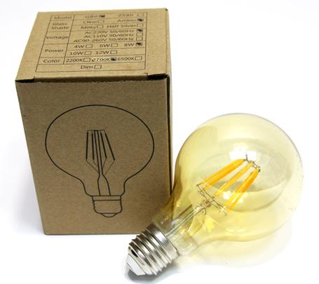 LED Birne 8 Ed Vintage
